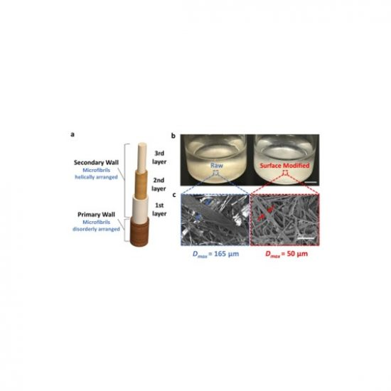 Direct ink writing of surface-modified flax elastomer composites